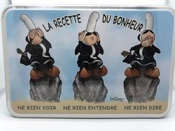Boîte à sucre MAM GOZ  galettes bretonnes de Rosterch 270 g - 200456BONHEUR270