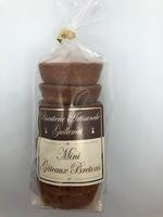 Petits gâteaux bretons natures 200 g